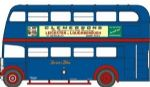 NRT007 Oxford Diecast Regent RT Bus Browns Blue